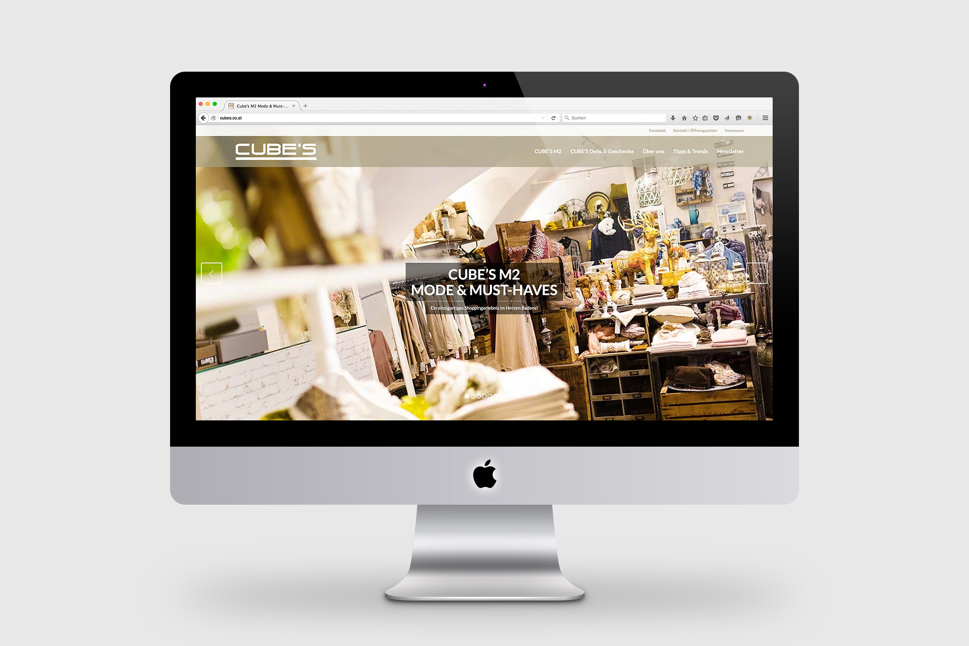 Wiener Seife, Website mit Webshop.